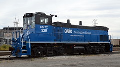 GMTX 329 Rear (ShayNo7) Tags: gmtx gatx 329 mp15ac mp15 milw milwaukee road whiting indiana bp refinery