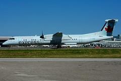 C-GGMI (Air Canada express- JAZZ) (Steelhead 2010) Tags: aircanada aircanadaexpress jazz bombardier dhc8 dhc8q400 yyz creg cggmi