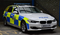 Durham Constabulary - NK64 EYP (Chris' 999 Pics) Tags: durham october 2016 constabulary bmw 330d 3 series diesel rpu roads policing unit traffic car pursuit vehicle anpr automatic number plate recognition 999 112 emergency police nk64eyp