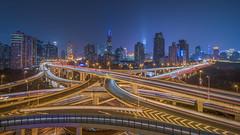 Shanghai China (flotankl) Tags: shanghai china cityscape colour lights night