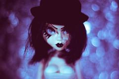 Hypnotize (3rd-Rate Photography) Tags: sybil livingdeaddolls fashionvictims doll bokeh goth girl woman toy toyphotography canon nikon freelens freelensing jacksonville florida 3rdratephotography earlware 365 50mm 5dmarkiii mezco