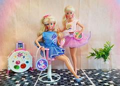 Easter Fun Barbie, Easter Party Barbie dolls (alenamorimo) Tags: barbie barbiedoll dolls barbiecollector superstar