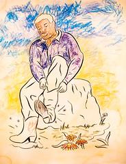 John Bankston (Thomas Hawk) Tags: america california johnbankston museum sfmoma sanfrancisco sanfranciscomuseumofmodernart usa unitedstates unitedstatesofamerica artmuseum painting us fav10