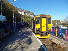 150265 St Ives (1) (Marky7890) Tags: gwr 150265 class150 sprinter 2a14 stives railway cornwall stivesbayline train