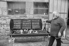 Foire de la châtaigne (Michel Seguret Thanks for 13.6 M views !!!) Tags: france avayron fête feast event chataigne automne autumn fall bw castelnaupegayrols nb michelseguret nikon d800 pro aveyron levezou