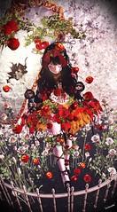 Snow White of the Rebellion (almaberta) Tags: secondlife dark apple snowwhite rose red fairytale irrisistible shop eve white snow