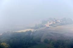 morning fog in tuscany II (Anna-logisch) Tags: fog landscape toskana tuscany italy nikond7000 morning