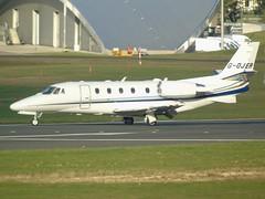 G-OJER Cessna 560 Citation XLS (c/n 6148) EGLF (andrewt242) Tags: gojer cessna 560 citation xls cn 6148 eglf