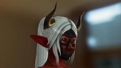 Ylthia (Lennik232) Tags: linachan lennik poser cute kawaii fantasy elves longears pose 3d 3dart 3dfantasy