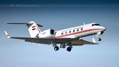 GOVERNMENT OF EGYPT GULFSTREAM 4SP (lavierphilippephotographie) Tags: gulfstream gulfstream4ps governmentofegypt lfpb lbg lebourget parislebourget avgeek plane airplane aircraft spotter planespotter planespotting