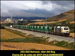 idn7283 (ribot85) Tags: 333302 333 3333 tolvas balasto cuena mataporquera cantabria tren trenes trains train mercancias mercante renfe renfemercancias diesel alstom