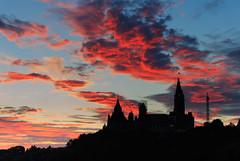 Ottawa (Zur@imiAbro@d) Tags: ottawa ontario tornado summer sunrise light colors clouds parliamenthill silhouette zurimiabrod canadastrong canada