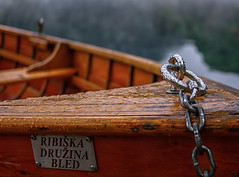 Bled (Tomislav Gazic) Tags: boat watter chain wet