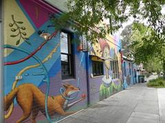 Streetart & Café scènes of Melbourne (YAZMDG (16,000 images)) Tags: wallart streetart grafiti thornbury melbourne