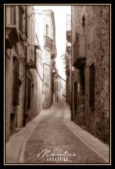 CACERES (MONTXO-DONOSTIA) Tags: caceres extremadura calle street old duoptone sepia montxodonostia