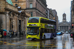 33219 SK68LXH First Glasgow (busmanscotland) Tags: 33219 sk68lxh first glasgow sk68 lxh ad adl alexander dennis e40d enviro 400 mmc enviro400 e400 e400mmc simplicity