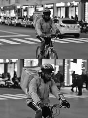 [La Mia Città][Pedala] (Urca) Tags: milano italia 2018 bicicletta pedalare ciclista bike bicycle nikondigitale scéta ritrattostradale portrait dittico biancoenero blackandwhite bn bw 115852