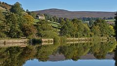 Reflections (42jph) Tags: nikon d7200 peak district uk england derbyshire nature birch vale reservoir water lake reflections