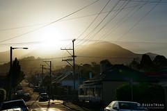 20181029-09-The 'burbs (Roger T Wong) Tags: 2018 australia hobart mtwellington rogertwong sel24105g sandybay sony24105 sonya7iii sonyalpha7iii sonyfe24105mmf4goss sonyilce7m3 tasmania backlit suburbs sunset