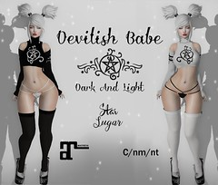 Devilish Babe ADD (*StarSugar*) Tags: darkness event pagan wicca wiccan sexy devil devilish sex slut sluty tight second life sl secondlife