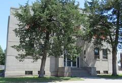 Mount Vernon, South Dakota City Hall and Auditorium (courthouselover) Tags: southdakota sd cityhalls townhalls davisoncounty mountvernon mtvernon eastriversouthdakota northamerica unitedstates us