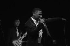 The Story of Jermaine (Sam Taylor Photography) Tags: performance stage gig music rap hiphop singing gospel nikond5200 light shadow highwycombe bucksnewuniversity musician blackwhite monochrome