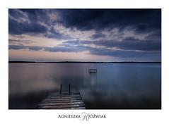 Blue Sunrise (smoothna) Tags: summer sunrise blue water clouds smoothna d90 sigma1020mm lake