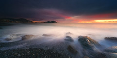 last light (Gian Paolo Chiesi) Tags: sunset liguria longexposure italy sea