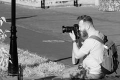 «Watching the observer» (nonnull) Tags: dmitrov moscowregion russia streetphotography blackandwhite noiretblanc streetphoto streetnotes streetphotobw infrared ircanoneos1000dabbstreet infraredphotography noir infraredstreet people canoneos1000dinfrared canoneos1000d canon autumn september чб чернобелое наблюдатель городскиезаметки город московскаяобласть люди россия улица лица чбфото 2018 barhatovcom canonzoomlensef70210mm bnw bw