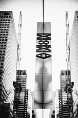 MoMA (Thomas Hawk) Tags: america manhattan moma museum museumofmodernart nyc newyork newyorkcity usa unitedstates unitedstatesofamerica bw reflection us fav10 fav25 fav50