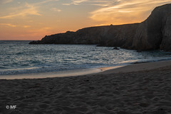 BZH SUNSET (MF[FR]) Tags: plage de port blanc quiberon bretagne france breizh sunset coucher soleil ciel sky rock rochers océan atlantique atlantic sable sand beach samsung nx1 hdr