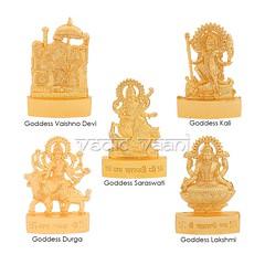 Adishakti 5 (Panch) Devi Set | From Vedic Vaani™ (vedicvaani.com) Tags: deity god goddess lord devi durga kali vaishno saraswati lakshmi idols vedic vaani voice of vedas flows towards hindu statue sculpture murti idol vaishnodevi