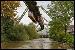 WSW  1, Wuppertal 28-09-2017 (Henk Zwoferink) Tags: wuppertal nordrheinwestfalen duitsland de wsw henk zwoferink schwebebahn wuppertaler stadtwerke