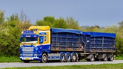 XV90173 (18.05.02, Motorvej 501, Viby J)DSC_5963_Balancer (Lav Ulv) Tags: 246281 kdtransport kurtdahl rigid trailer rolloffcontainer brown 2015 scania rseries pgrseries scaniarseries r520 v8 highline e6 euro6 8x4 r6 blue motorway autobahn motorvej vibyj highway hiway autostrada truck truckphoto truckspotter traffic trafik verkehr cabover street road strasse vej commercialvehicles erhvervskøretøjer danmark denmark dänemark danishhauliers danskefirmaer danskevognmænd vehicle køretøj aarhus lkw lastbil lastvogn camion vehicule coe danemark danimarca lorry autocarra danoise vrachtwagen