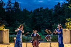 Web Lyrica 5 (mtschappat@verizon.net) Tags: flute cello clarinet catherine gregory yves dharamraj moran katz lyrica chamber music greenwood gardens sony a6500 35mm lens decoda