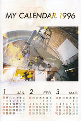 19960000_IMG_0001 (NAMARA EXPRESS) Tags: postcard photograph calendar paper telescope observatory memorial typhoons storm surge color japan film canon canoscan 9000f scanner scan namaraexp