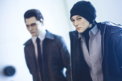 Saving the 800 (15) (toriasoll) Tags: bjd abjd detroit detroitbecomehuman bjdcosplay dollcosplay cosplay rk800 rk900 android doll dollphotography dollphoto