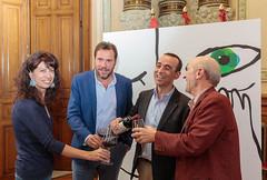 #63Seminci - Firma del convenio de colaboración con Ribera del Duero (10/10/2018) (SEMINCI) Tags: seminci cine valladolid