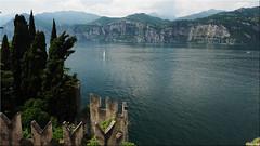Malcesine - view of Lake Garda (Ostseetroll) Tags: gardasee geo:lat=4576602496 geo:lon=1080817461 geotagged ita italien malcesine veneto olympus em5markii