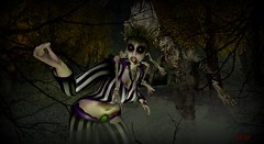 Haunted Halloween @ Mystic Timbers (SneekyBrat) Tags: mystictimbers halloween challenges playing roleplay fun