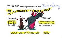 16600133 (myQSL) Tags: cb radio qsl card 1970s pen