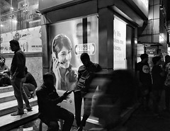 @DHAKA|2018 (Shahrear94) Tags: streetphotography structure street people human wall blackandwhite black blackwhite picture white bangladesh dhaka photography flicker activities position standing juxtaposition composition frame framing xiaomi mia2