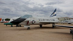 Convair TF-102A-20-CO Delta Dagger 54-1366 in Tucson (J.Comstedt) Tags: aircraft flight aviation air aeroplane museum airplane us usa planes pima space tucson az covair f102 tf102 usaf 541366