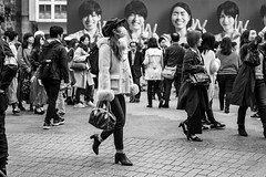 Only The Best Will Do (burnt dirt) Tags: asian japan tokyo shibuya station streetphotography documentary candid portrait fujifilm xt1 bw blackandwhite laugh smile cute sexy latina young girl woman japanese korean thai dress skirt shorts jeans jacket leather pants boots heels stilettos bra stockings tights yogapants leggings couple lovers friends longhair shorthair ponytail cellphone glasses sunglasses blonde brunette redhead tattoo model train bus busstation metro city town downtown sidewalk pretty beautiful selfie fashion pregnant sweater people person costume cosplay boobs