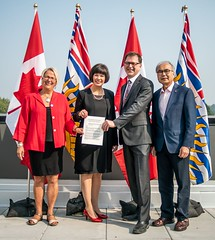 Governments of Canada and British Columbia sign agreement to improve health-care services (BC Gov Photos) Tags: healthcare ministryofhealth communitycare primarycare homecare