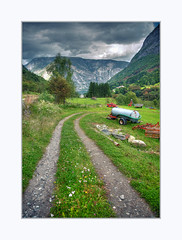 Pathway (Fr@nk ) Tags: norway norge travel mrtungsten62 frnk canon6d 2017 holiday rec0309 europ12 sel sognogfjordane