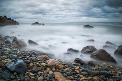 Along the Marginal Way - Ogunquit, Maine (capers66) Tags: maine ocean sea seacoast coastline shore water mist waves ogunquitmaine longexposure coast stony rocks fog canon5dmarkiv