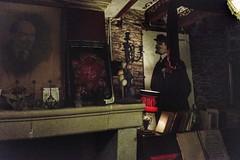 Un peu de rouge dans la pénombre (LUMEN SCRIPT) Tags: exhibition museum red interiorphotography indoorphotography history tableau painting