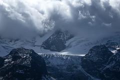 Steingletscher (lvalgaerts) Tags: switzerland schweiz alps sustenpass drive autumn glacier gletscher steingletscher dark clouds