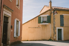Streets of Roussillon 2 (mhoechsmann) Tags: 2018 europe france midday provence roussillon travel
